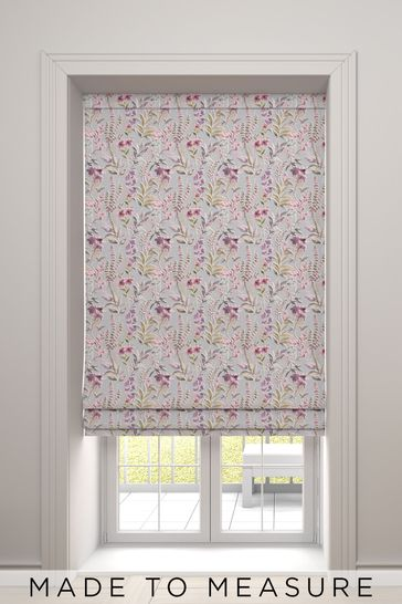 Ellis Pink Made To Measure Roman Blind