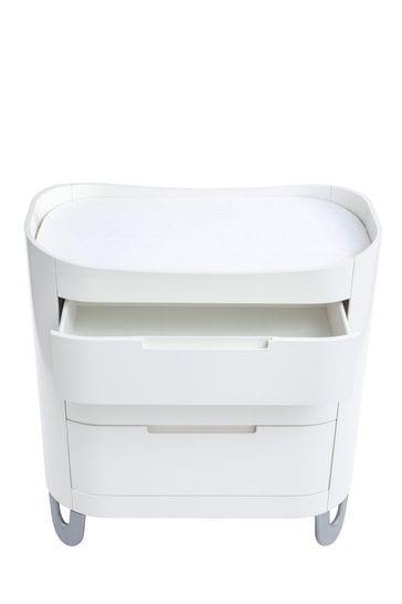 Gaia Baby Complete Sleep+ Mini And Dresser Set White