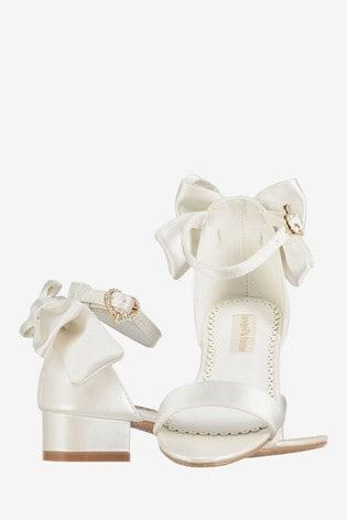 Angel's Face White Elsa Heels Shoes