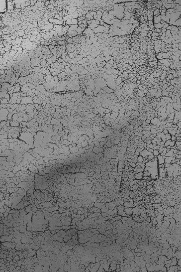 Ink Black Crackle Made To Measure Roller Blind