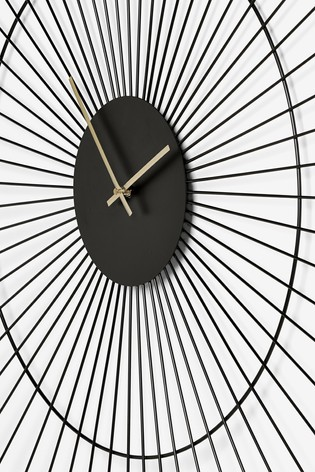 Extra Large Wire Wall Clock