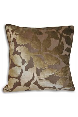 Riva Home Brown Delano Faux Velvet Cushion