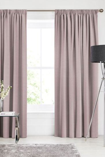 Jasper Heather Pink Made To Measure Curtains