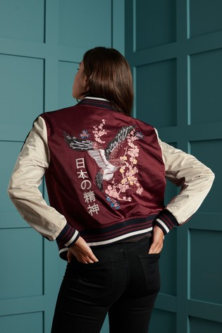 Superdry Eagle Souvenir Bomber Jacket