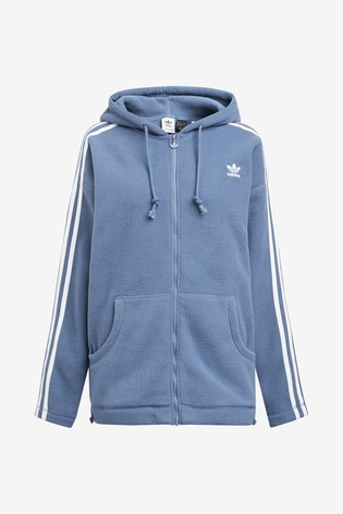 adidas Originals Polar Fleece Zip Through Hoodie