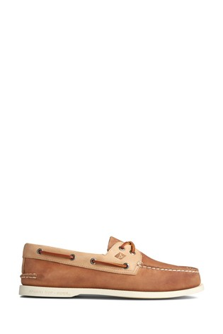 Sperry Tan Authentic Original Boat Shoes