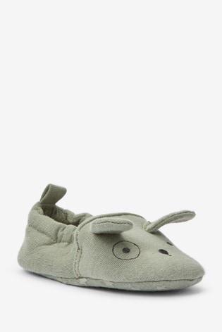 Sage Dog Slip-On Pram Shoes (0-24mths)