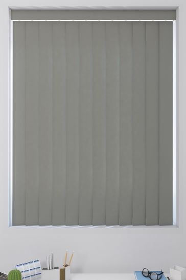 Canvas Rock Grey Made To Measure Vertical Blind
