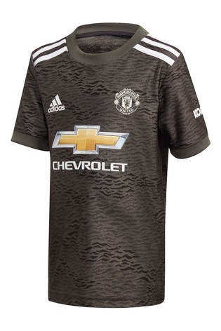 adidas Manchester United Away 20/21 Mini Kit