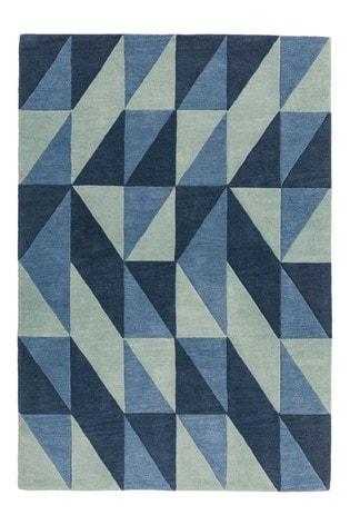 Reef Wool Flag Rug by Asiatic Rugs