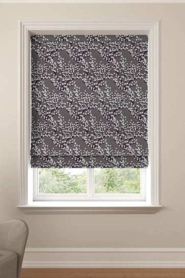 Albion Berry Purple Made To Measure Roman Blind