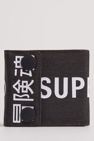 Superdry Detroit Popper Wallet