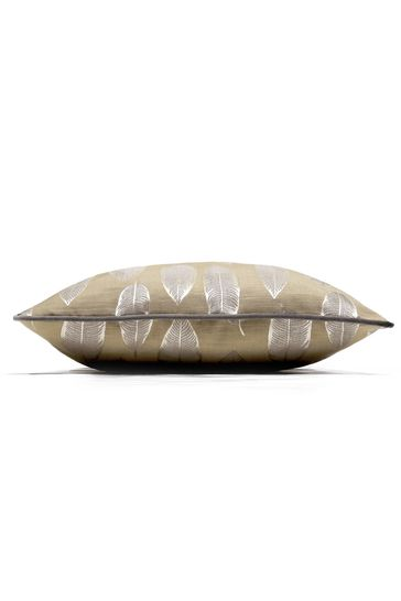 Quill Ember Feather Cushion by Prestigious Textiles