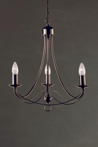 Candella 3 Light Ceiling Light by Searchlight