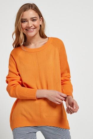 Orange Cosy Jumper
