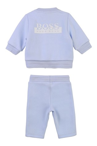 BOSS Baby Light Blue Logo Tracksuit Gift Set