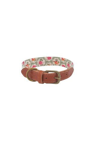 Provence Rose Soft Touch Real Leather Small Collar by Cath Kidston®