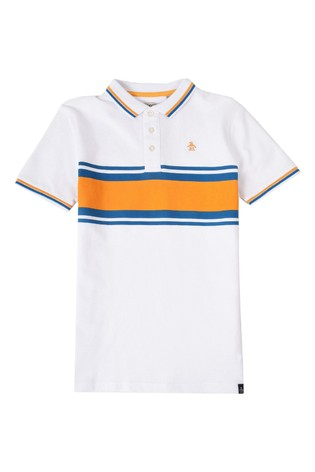 Original Penguin® Chest Stripe Polo Shirt