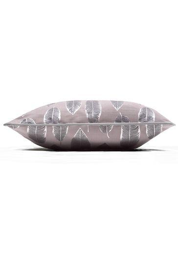 Quill Iris Feather Cushion by Prestigious Textiles