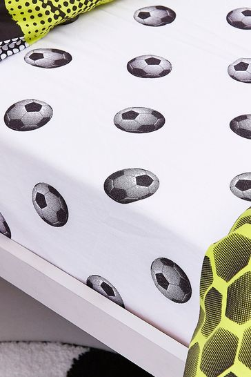 Football Fitted Sheet by Catherine Lansfield
