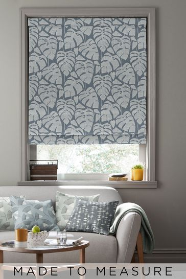 Guatemala After Dark Black Made To Measure Roman Blind by MissPrint