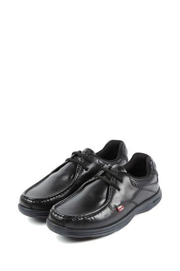 Kickers® Black Reasan Lace Shoe