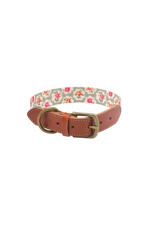 Provence Rose Soft Touch Real Leather Large Collar by Cath Kidston®