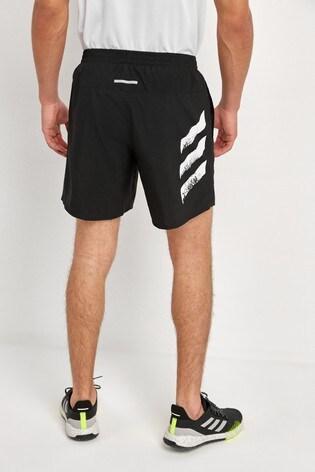 adidas Run It 3 Stripe Shorts