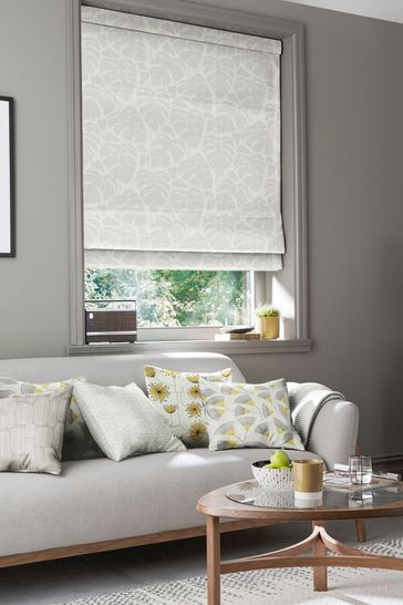 Guatemala Ghost Grey Made To Measure Roman Blind by MissPrint