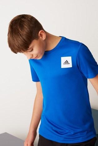 adidas Performance Blue Training Aero T-Shirt