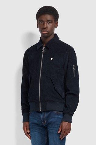 Farah Blue Suggs Bomber Jacket