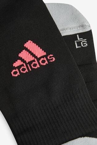 adidas Black Real Madrid 3rd Football Socks