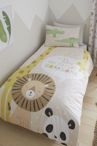 Roarsome Duvet Cover and Pillowcase Set by Catherine Lansfield