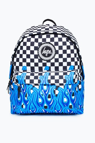 Hype. Flame Check Backpack
