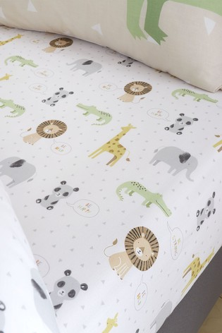 Roarsome Fitted Sheet by Catherine Lansfield