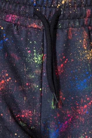 Hype. Multicolour Spray Print Joggers