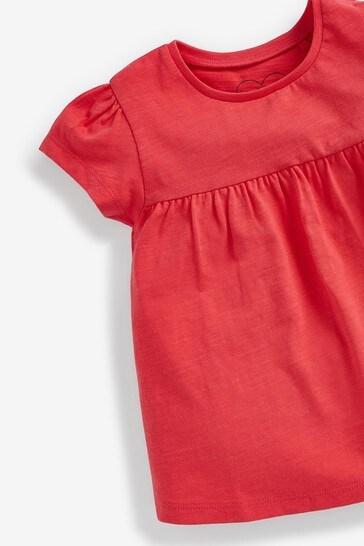 Red Cotton T-Shirt (3mths-7yrs)