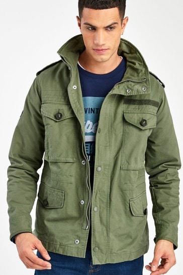 Superdry Green Field Jacket