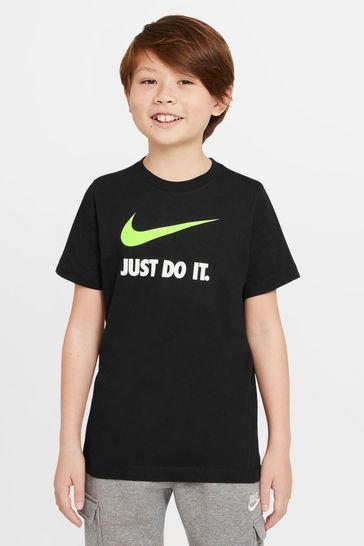 Nike Black JDI. Swoosh T-Shirt