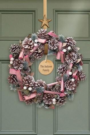 Personalised Sherbet Wreath by Dibor