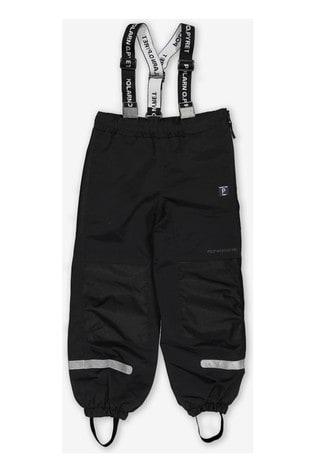 Polarn O. Pyret Black Waterproof Shell Trousers