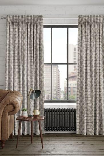 Metallic Hallam Vintage Made To Measure Curtains