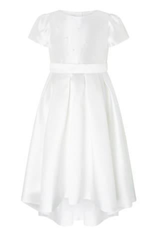 Monsoon Henrietta Pearl Embellished Dress