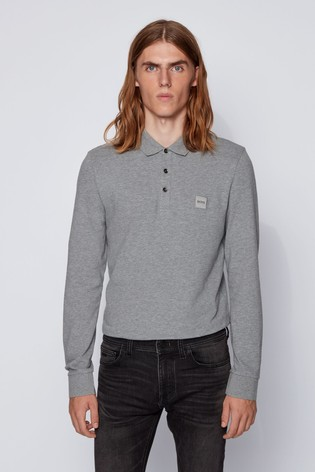 BOSS Passerby Long Sleeve Polo