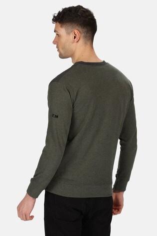 Regatta Green Payson Fleece Sweatshirt