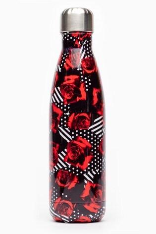 Hype. Geo Roses Metal Reusable Bottle