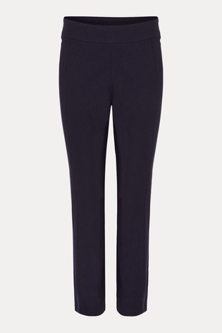 Phase Eight Blue Halle Crop Trousers