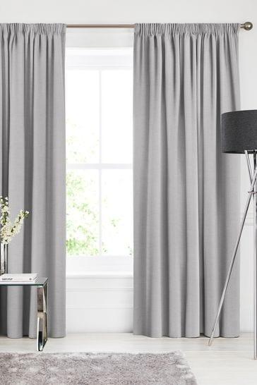 Soho Fog Grey Made To Measure Curtains