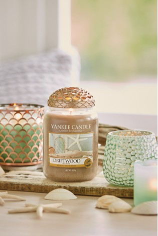 Yankee Candle Classic Large Driftwood Candle
