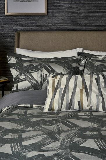 Harlequin Graphite Typhonic Duvet Cover